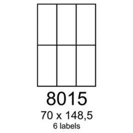 Etikety RAYFILM 70x148,5 univerzálne biele R01008015F R0100.8015F