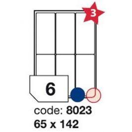 Etikety RAYFILM 65x142 univerzálne biele R01008023F R0100.8023F
