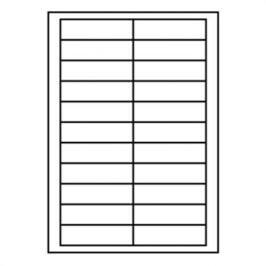 Etikety RAYFILM 90x25,4 univerzálne biele (perforácia) R0100BD01F R0100.BD01F