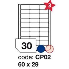 Etikety RAYFILM 60x29 univerzálne biele R0100CP02F R0100.CP02F