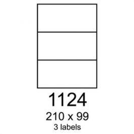 Etikety RAYFILM 210x99 fotomatné biele inkjet 90g R01051124A R0105.1124A