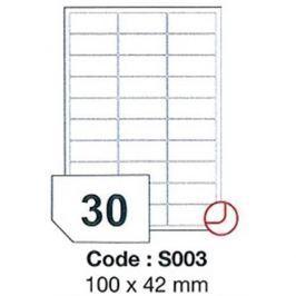 Etikety RAYFILM 100x42 vysokolesklé biele laser SRA3 R0119S003A (100 list./A3) R0119.S003A