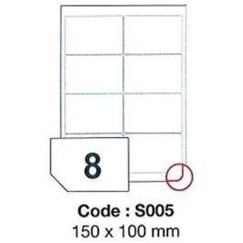 Etikety RAYFILM 150x100 vysokolesklé biele laser SRA3 R0119S005A (100 list./A3) R0119.S005A