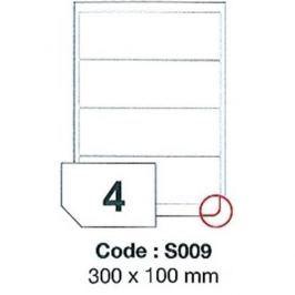 Etikety RAYFILM 300x100 vysokolesklé biele laser SRA3 R0119S009A R0119.S009A