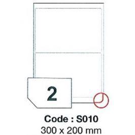 Etikety RAYFILM 300x200 vysokolesklé biele laser SRA3 R0119S010D R0119.S010D