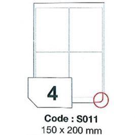 Etikety RAYFILM 150x200 vysokolesklé biele laser SRA3 R0119S011D R0119.S011D