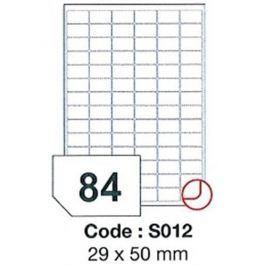 Etikety RAYFILM 29x50 vysokolesklé biele laser SRA3 R0119S012A R0119.S012A