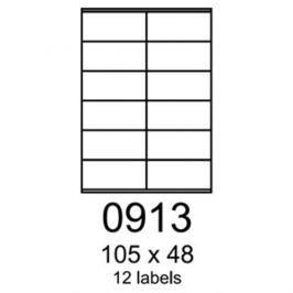 Etikety RAYFILM 105x48 univerzálne zelené R01200913A (100 list./A4) R0120.0913A