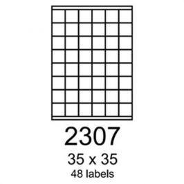 Etikety RAYFILM 35x35 univerzálne zelené R01202307A R0120.2307A