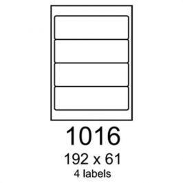 Etikety RAYFILM 192x61 univerzálne žlté R01211016A R0121.1016A