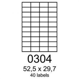 Etikety RAYFILM 52,5x29,7 univerzálne červené R01220304A R0122.0304A