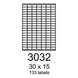 Etikety RAYFILM 30x15 oranžové flourescentné laser R01333032A R0133.3032A