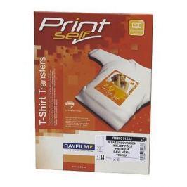 Papier RAYFILM nažehľovací laser (svetlý textil) 2ks/A4 + Tričko XL Biele R0207.WHITE