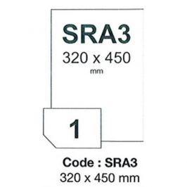 Fólia RAYFILM matná strieborná polyesterová samolepiaca laser 300ks/SRA3 R0555.SRA3D