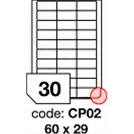 Etikety RAYFILM 60x29 univerzálne biele eco R0ECOCP02F R0ECO.CP02F
