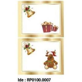 Etikety RAYFILM STICKERS - nálepky darčekové vianočné (motív C) 10ks/5 listov *RP01000007J RP0100.0007J