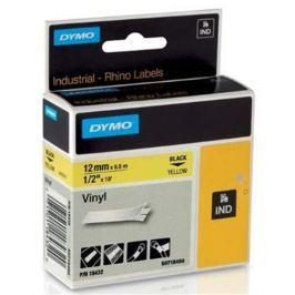 páska DYMO 18432 PROFI D1 RHINO Black On Yellow Vinyl Tape (12mm) S0718450