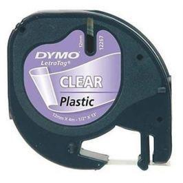 Páska DYMO 12268 LetraTag Transparent Plastic Tape (12mm) S0721540