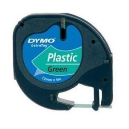 Páska DYMO 59425 LetraTag Green Plastic Tape (12mm) S0721590