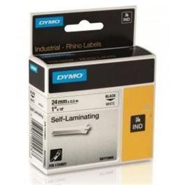 Páska DYMO PROFI D1 RHINO Black On White Self-Laminating Tape (24mm) S0773860