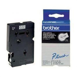 Páska BROTHER TC291 Black On White Tape (9mm)