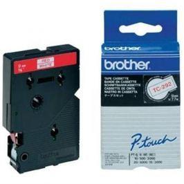 Páska BROTHER TC292 Black On Red Tape (9mm)
