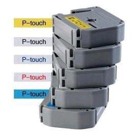 Páska BROTHER TX551 Black On Blue Tape (24mm)