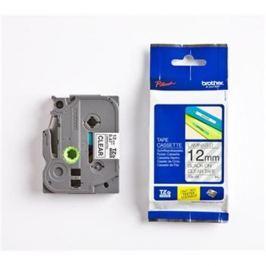 Páska BROTHER TZ131S Black On Clear Tape (12mm) TZE131S