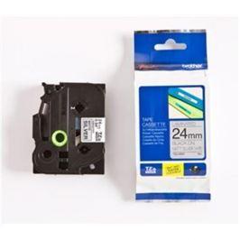 Páska BROTHER TZM951 Black On Silver Metalic Tape (24mm) TZEM951