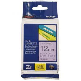 páska BROTHER TZeMQF31 čierne písmo, pastelová fialová páska Tape (12mm)