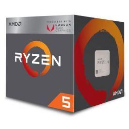 CPU AMD Ryzen 5 2400G, Processor BOX, soc. AM4, 65W, RX Vega Graphics s Wraith Stealth chladičom YD2400C5FBBOX