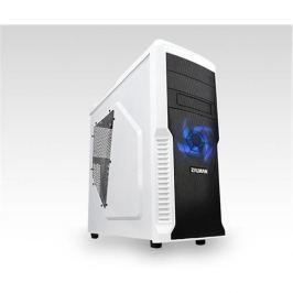 Skrinka Zalman MidTower Z3 Plus, mATX/ATX, priehľadný bok, bez zdroja, biela Z3 PLUS WHITE