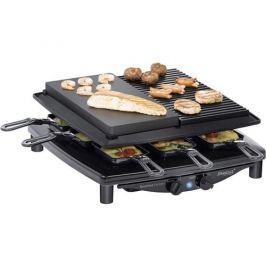Raclette gril Steba Germany RC4 plus deluxe, 8 pánví, černá 1606821