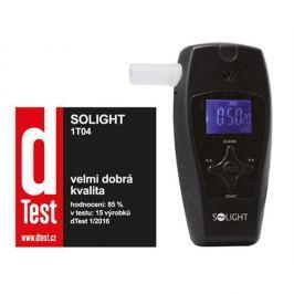 Solight alkohol tester profi, 0,1 - 3,0‰ BAC, citlivosť 0,1‰, farebný displej, automatické čistenie 1T04
