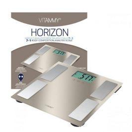 VITAMMY HORIZON Kúpeľňová váha a váha pre športovcov s funkciou SENSE ON, farba zlatá perl 417797