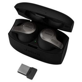 Jabra Evolve 65t, Titanium Black, UC (USB dongle) 6598-832-209