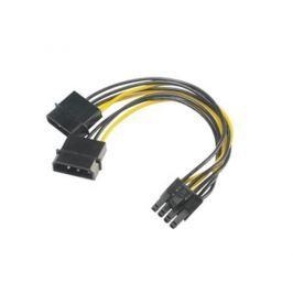 AKASA - 4-pin Molex na 6+2-pin PCIe adaptér AK-CBPW20-15
