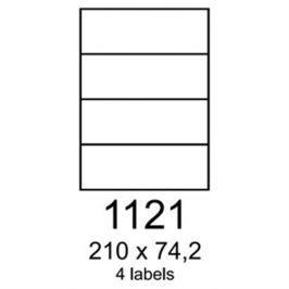 etikety RAYFILM 210x74,2 univerzálne zelené R01201121F (1.000 list./A4) R0120.1121F