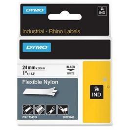páska DYMO 1734524 D1 Black On White Flexible Nylon Tape (24mm) S0773840