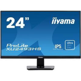 Monitor iiyama XU2493HS-B1, 24'', IPS,FullHD,4ms,250cd/m2, 1000:1,16:9,VGA,HDMI,DP,repro.