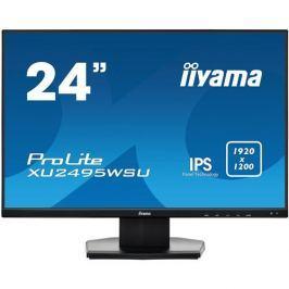 Monitor iiyama XU2495WSU-B1, 24'', IPS, 1920x1200, 5ms, 300cd/m2, 1000:1, 16:10, VGA, HDMI, DP, USB, repro
