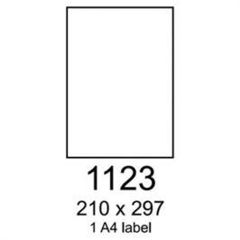 Etikety RAYFILM 210x297 fotomatné biele inkjet 90g R01051123A R0105.1123A