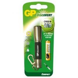 Svietidlo LED GP LCE202 + 1 batéria GPAAA - silver 1451202010
