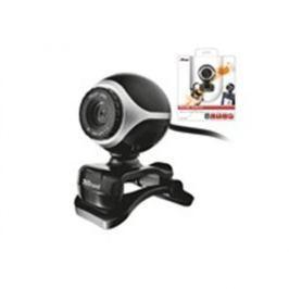 Webkamera TRUST Exis Webcam - Black/Silver 17003