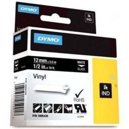 páska DYMO 1805435 PROFI D1 RHINO White On Black Vinyl Tape (12mm)