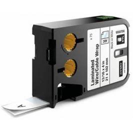 páska DYMO XTL 1868706 Black On White Pre-Sized Laminated Wrap (21x102) 75ks
