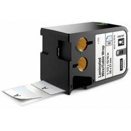 páska DYMO XTL 1868707 Black On White Pre-Sized Laminated Wrap (38x21) 250ks