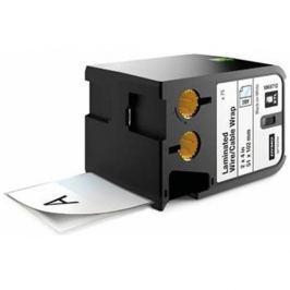 páska DYMO XTL 1868712 Black On White Pre-Sized Laminated Wrap (51x102) 70ks