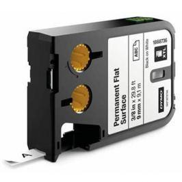 páska DYMO XTL 1868736 Black On White Permanent Flat Surface Tape (9mm)