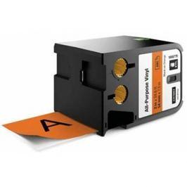 páska DYMO XTL 1868770 Black On Orange All-Purpose Vinyl Tape (54mm)